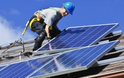 В МАОУ гимназии №32 установлены солнечные батареи