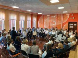 Встреча с Председателем совета Калининградского областного отделения Всероссийской общественной организации «Боевое братство»